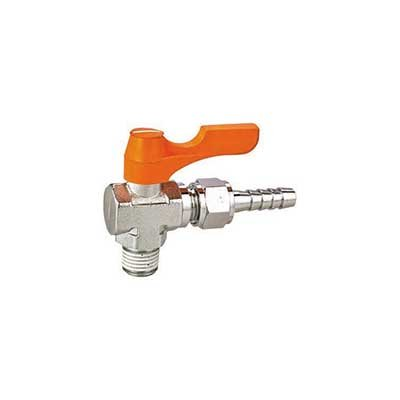 Brass Ball Cock Valve with Male X Swivel Nozzle Standard Bore Suit for Water Gas Oil.