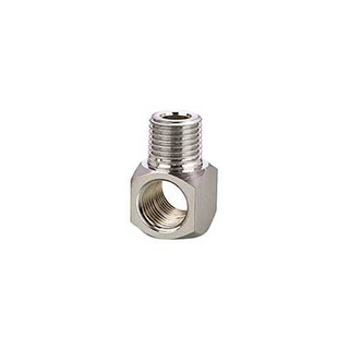 Brass Pneumatic Fitting Brass Tee with Chrome Plated