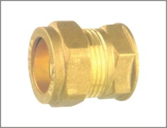 Brass Stright Coupler Plumbing Fitting China Supplier